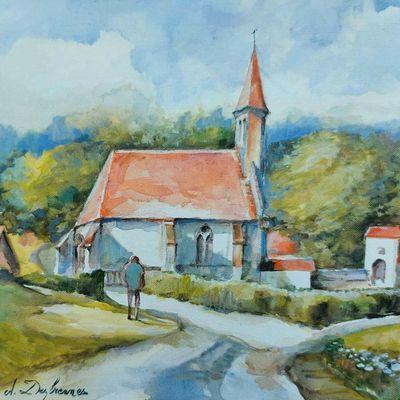 Chapelle de l'abbaye de Belval