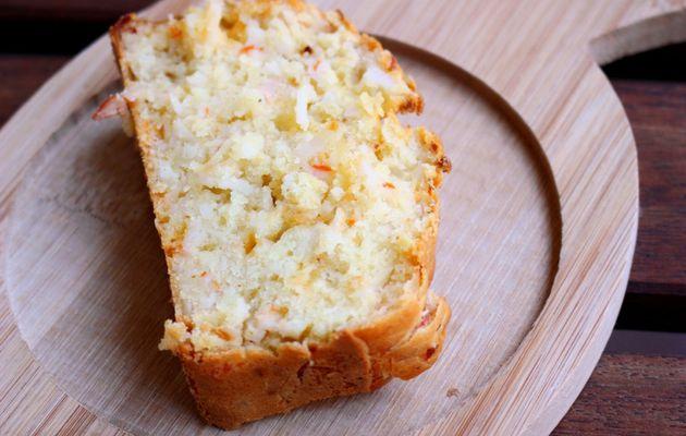 Apéritif dinatoire #80 - Cake aux surimis, cheddar et au piment d'Espelette