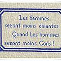 Free - A la cueilette - Bien le Bonjour aux Brodeuses -suite