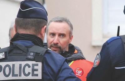 Déclaration de soutien des insoumis au secrétaire de l'UD CGT Allier