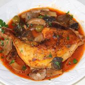 Poulet marengo - Chez Vanda