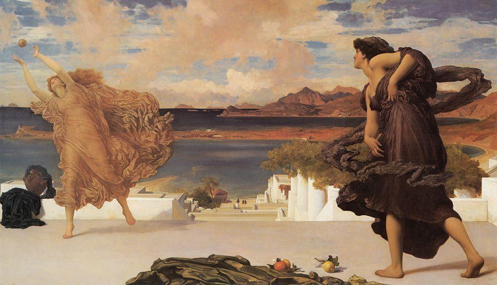 Frederic, baron Leighton, né le 3 décembre 1830 à Scarborough et mort le 25 janvier 1896, est un peintre et sculpteur britannique de l'époque victorienne.