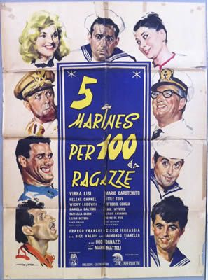 5 marines per 100 ragazze de Mario Mattoli