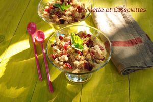 Marmelade de Rhubarbe en crumble Pain d'Epices...