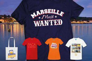 Tee shirt: France - La Région Provence-Alpes-Côte d'Azur sur ta peau