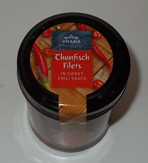 Lidl Vitasia Thunfisch Filets in Sweet Chili Sauce