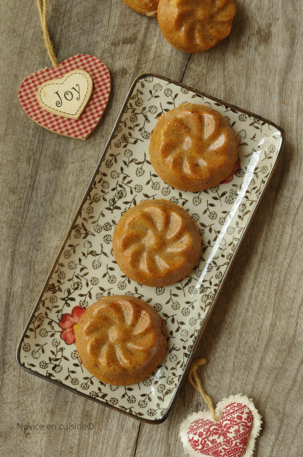 Petits gâteaux praliné et abricots