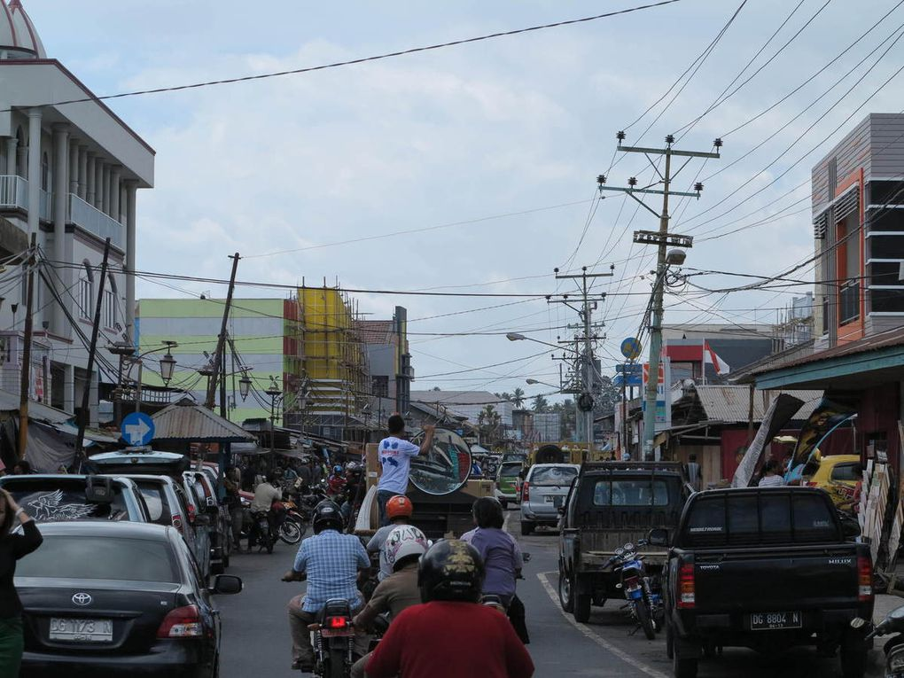 Tobelo city, Halmahera.