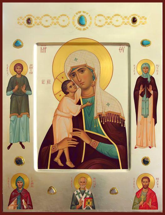 priére de St Ephrem à Marie
