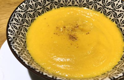 Velouté curry coco