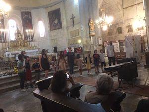 Les Écoles de Musique du territoire de la CCAPV en concert à Senez