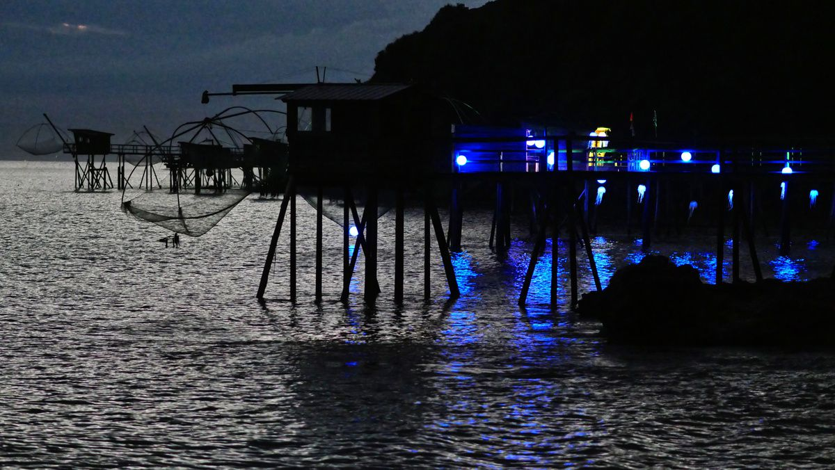 Illumination des pêcheries