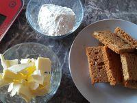 Filet de poisson au crumble de pain d'épice et potimarron à l'orange