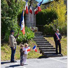 Moriez  : Une belle matinée pour célébrer la commémoration de la victoire du 8 mai 1945.