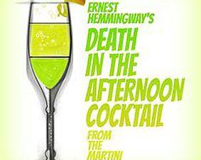 """Cocktail """"Mort dans l'après-midi"""". Ph. internet."""