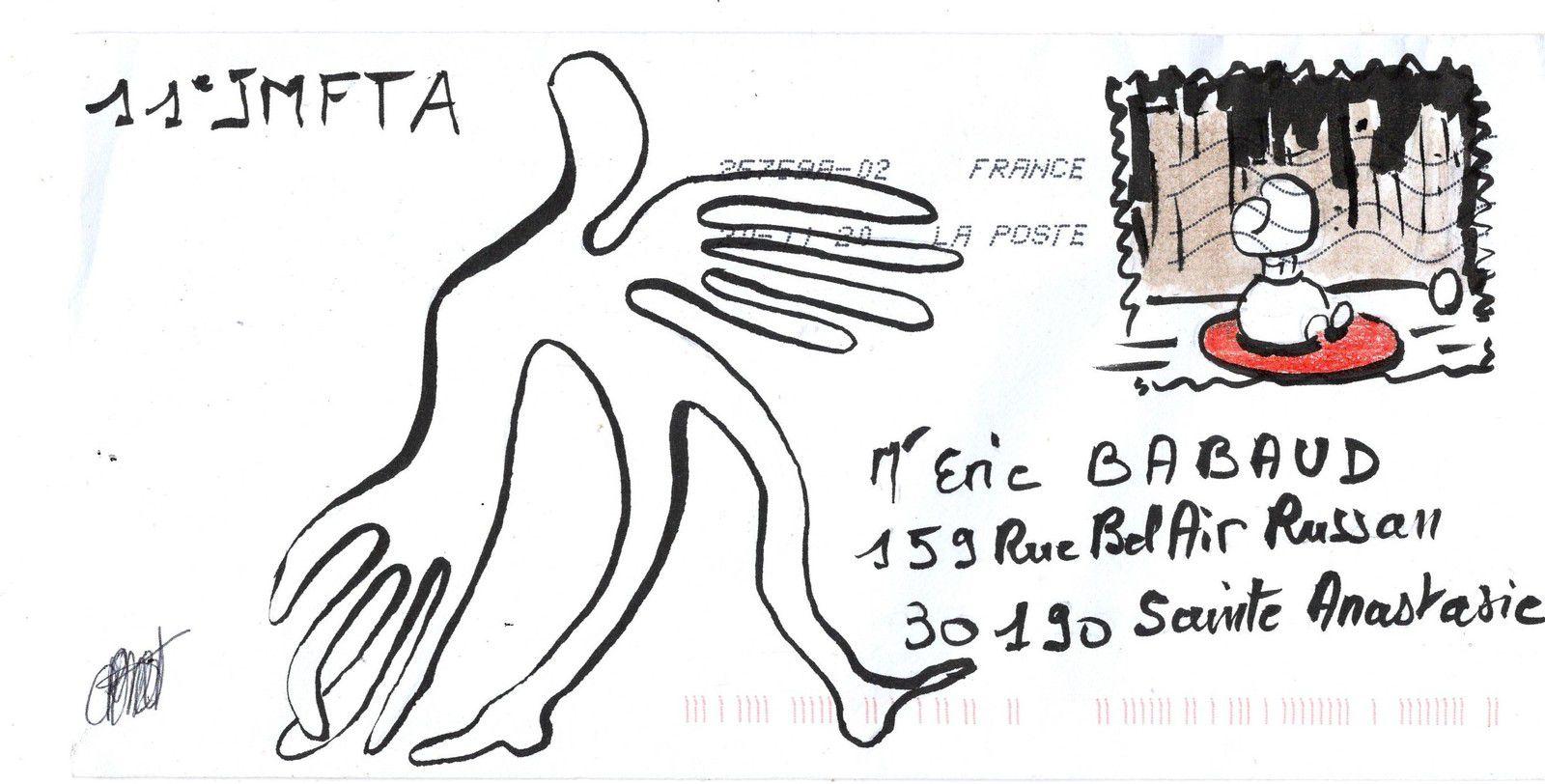 Et toujours des courriers de la JMFTA !