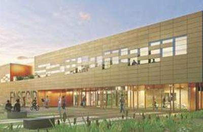 Construction de l'Ecole Nationale Supérieure en Environnement, Géoressources et Ingénierie du Développement durable à Pessac