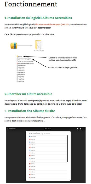 Une bibliothèque pour les Albums Accessibles Adaptés...