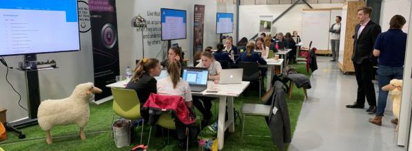 NATS hosts cyber security challenge for school girls