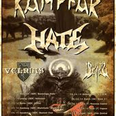 Tour dates from KAMPFAR and HATE in 2014 - Markus' Heavy Music Blog