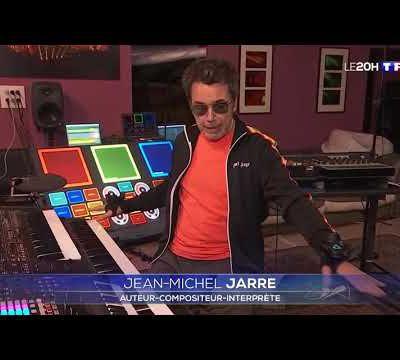 Reportage sur les coulisses du concert Alone Together au JT de TF1