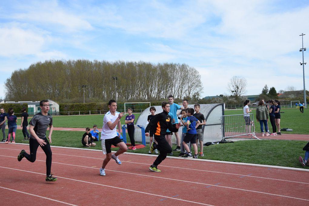 Championnat de District Athlétisme 2018
