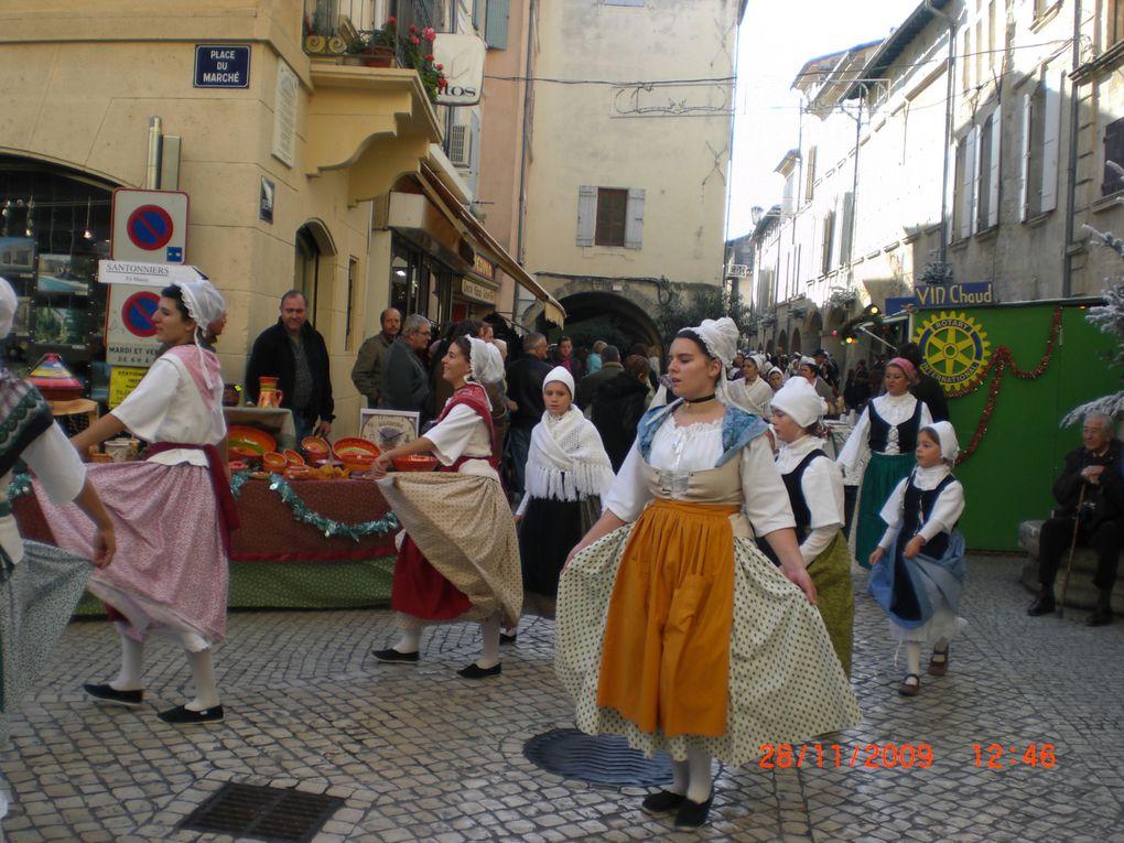 Marché de Noël et Marché aux Santons 2009