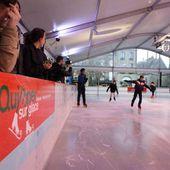 La patinoire de retour place Saint-Corentin