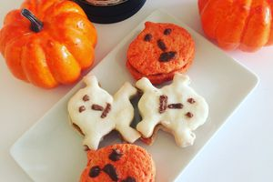 Biscuits d'halloween au citron