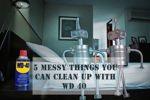 5 messes you can clean up with WD 40