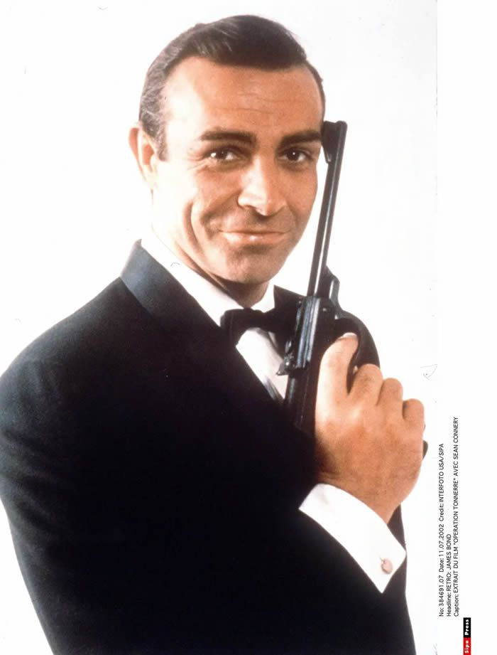 Sean Connery en James Bond © INTERFOTO USA/SIPA