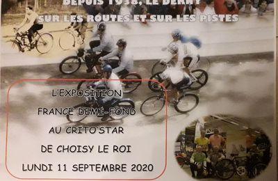 LE CRITO' STAR 2020, L'EXPOSITION FRANCE DEMI-FOND