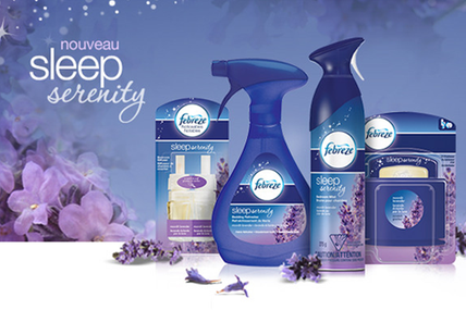 Test Febreze Sleep Serenity