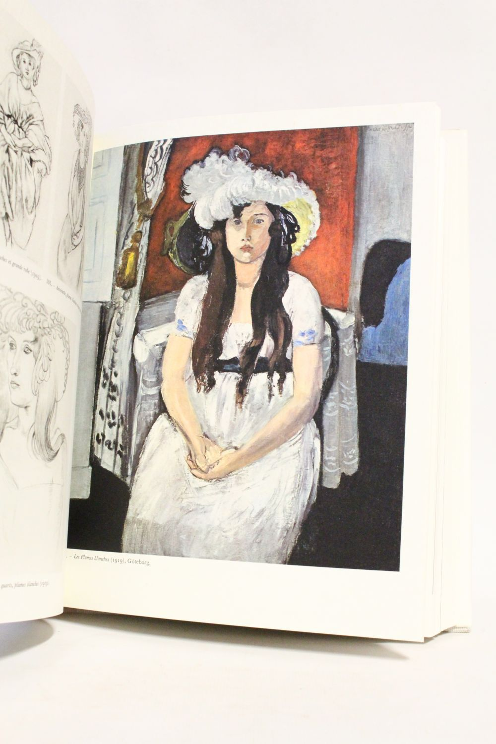 """HM Roman page 545 """"Les plumes blanches"""" 1919, Goteborg, Konstmuseum"""