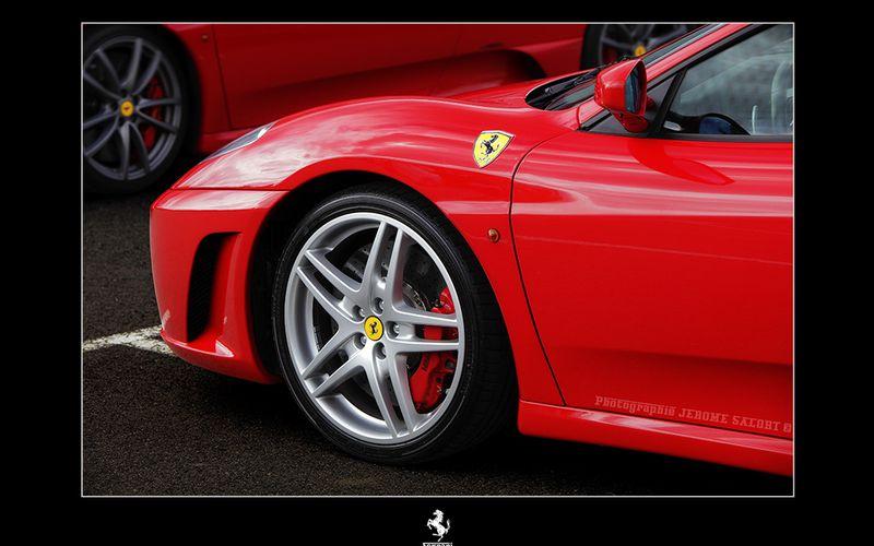 Journée Ferrari à la rotisserie organisée par le Rotary Club de Muret