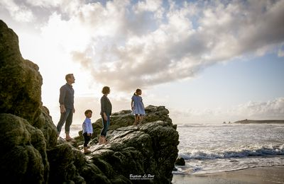 6 août - séance en fin de journée avec une famille super qui vient de loin...