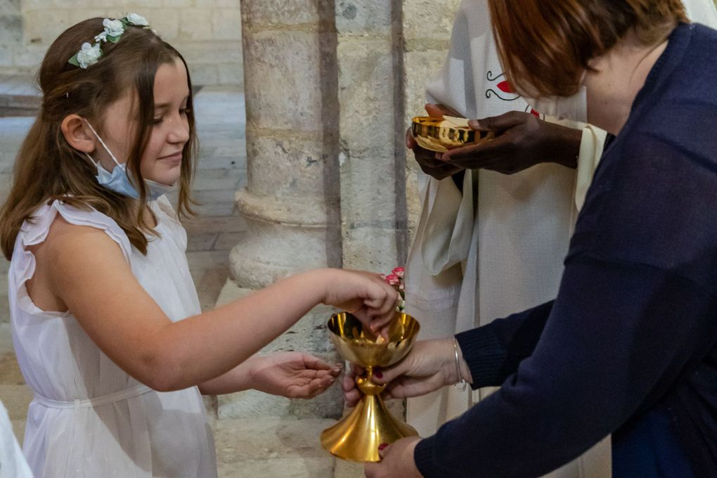 Premières communions à Moirax : 30 mai 2021