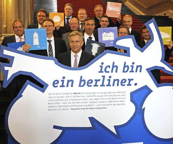 Berlin aime l'industrie