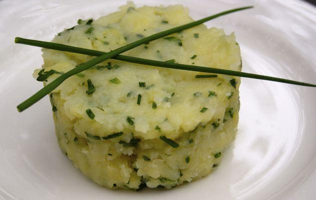 Ecrasé de pommes de terre aux fines herbes