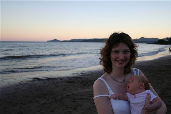 Fin de journéeà la plage de Sakouli... Le 22/04/06
