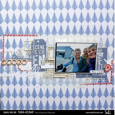 Paris à pied, Une page  en Sokai