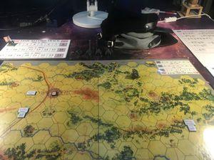 Et enfin la version ou le Sudiste réussi sont assaut : Le général Laurent Lee affronte le général Gael Meade