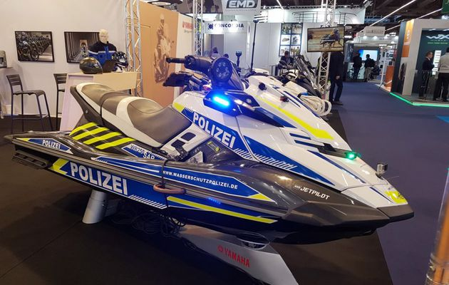 Yamaha In force at the Milipol Salon
