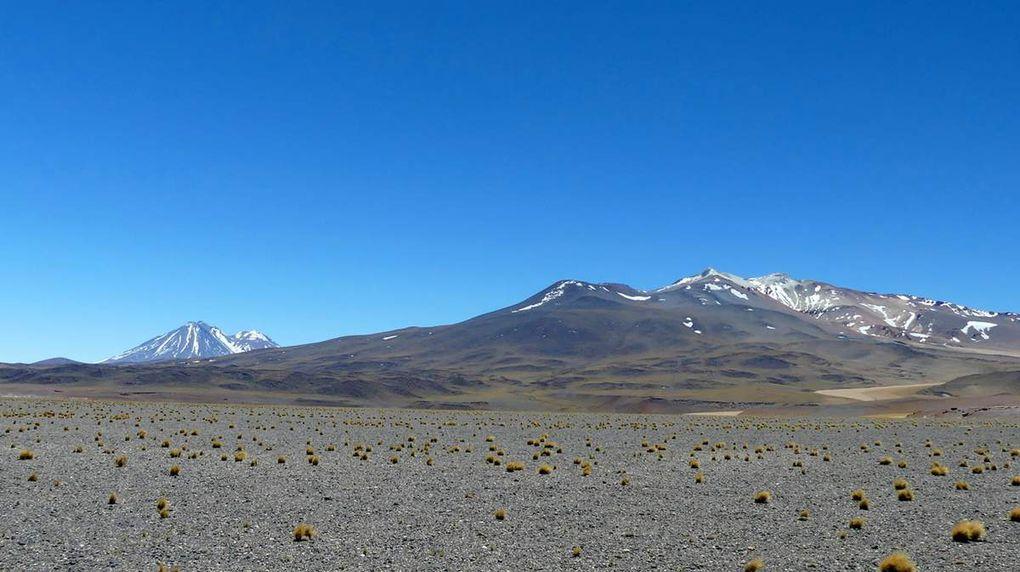 Retour au Chili : le désert d'Atacama.