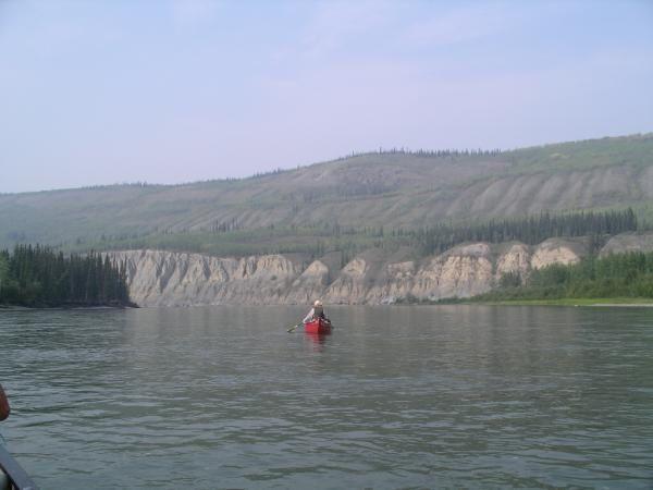 Photos de notre randonn&eacute;e de cinq jours et deux de navigation en cano&eacute; sur la rivi&egrave;re Pelly...<br/>