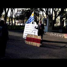 URUGUAY - ACTO EN SOLIDARIDAD AL FISCAL ENRIQUE VIANA (TREINTA Y TRES) 1 PARTE.
