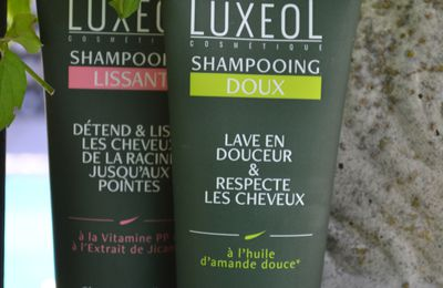Les shampooing LUXEOL