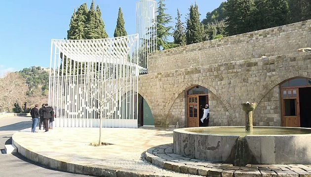 Une mosquée d'avant-garde en pays druze au Liban