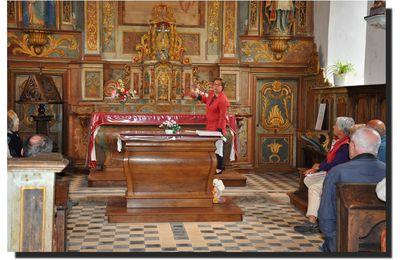 Visite à Crasville : l'église Sainte Colombe (1/3)