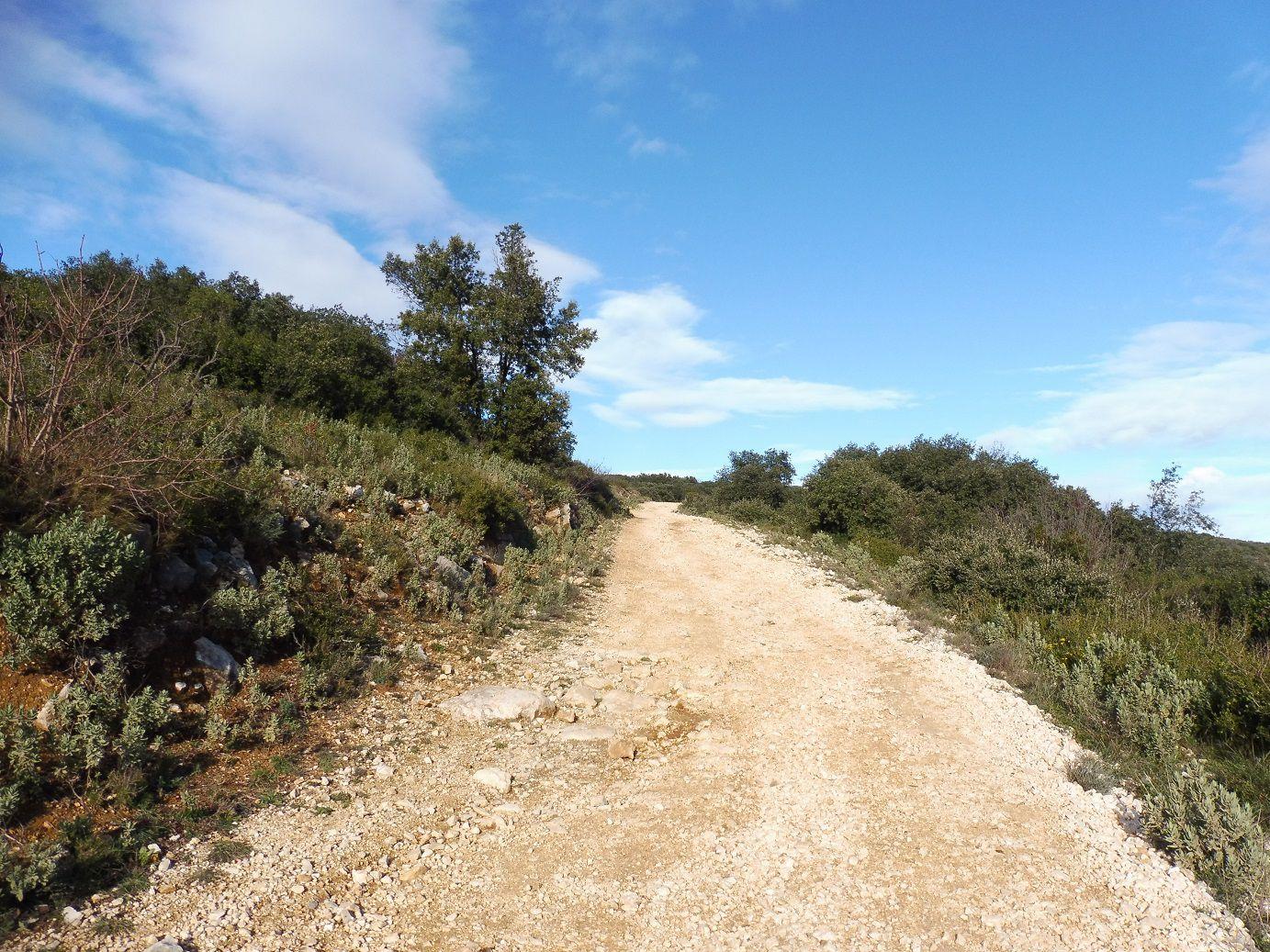 """Sortie en """"gravel"""" Autour du Pont du Gard."""
